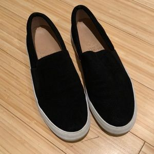 Size 6-1/2 black loafers